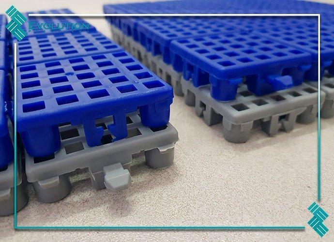 Estrado plástico 40 x 40