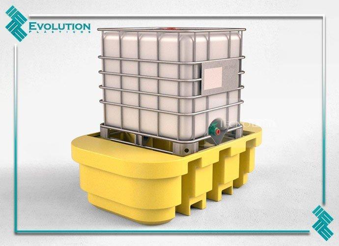 Pallet para container ibc de 1000 litros